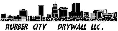 Rubber City Drywall Logo