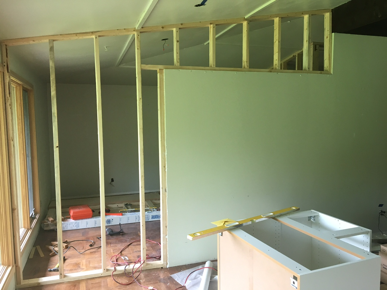 Bath Township Home Remodel Rubber City Drywall